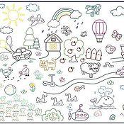 Материалы для творчества handmade. Livemaster - original item Poster-coloring