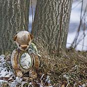 Куклы и игрушки ручной работы. Ярмарка Мастеров - ручная работа Лесной поэт мишка тедди. Handmade.