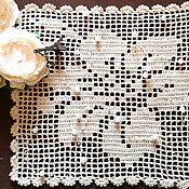 """Для дома и интерьера handmade. Livemaster - original item Подставки под тарелки,кружки,горячее """" Вальс цветов"""". Handmade."""