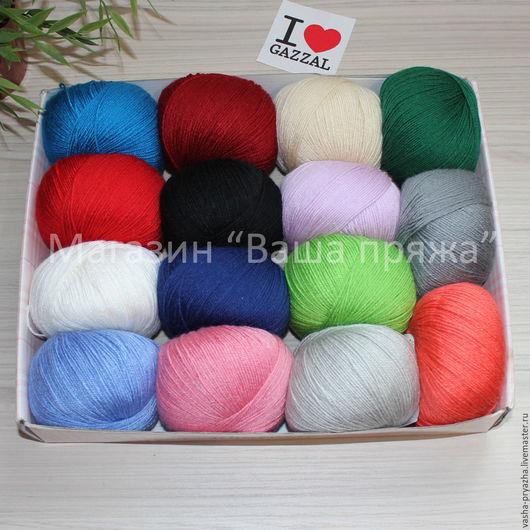 Вязание ручной работы. Ярмарка Мастеров - ручная работа. Купить Baby Wool Gazzal (Беби вул Газал). Handmade.