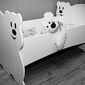 """Для дома и интерьера ручной работы. Ярмарка Мастеров - ручная работа Кровать """"Белый мишка"""". Handmade."""