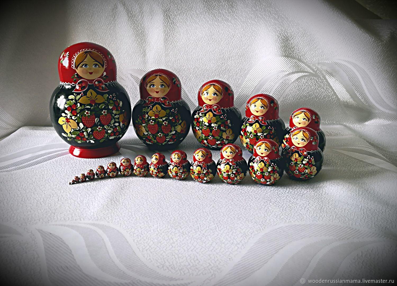 Матрешка 20 мест, под хохлому, Матрешки, Чехов,  Фото №1