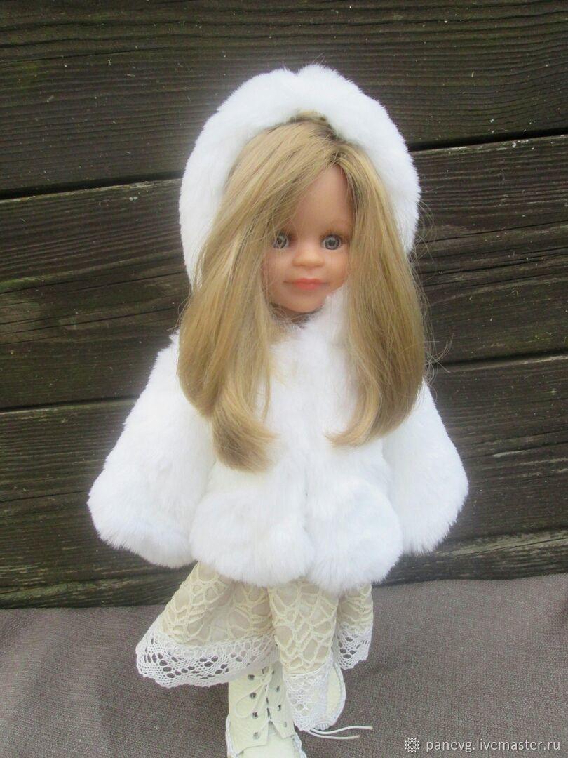 Шубка с капюшоном и сапожки, Одежда для кукол, Волоколамск,  Фото №1