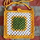Очень яркая и жизнерадостная детская сумочка. Или - упаковочная сумочка для подарка для взрослого человека. Например, на Пасху.