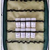 """Комплекты аксессуаров для дома ручной работы. Ярмарка Мастеров - ручная работа Пенал для гомеопатической аптечки на 84 флакона фирмы """"ОЛЛО"""". Handmade."""