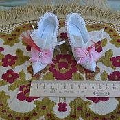 Куклы и игрушки ручной работы. Ярмарка Мастеров - ручная работа Гобеленовые туфельки. Handmade.