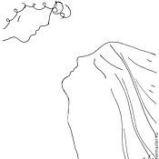 """Картины и панно ручной работы. Ярмарка Мастеров - ручная работа Серия """"Сон об Элладе"""", графика. недорого. Handmade."""