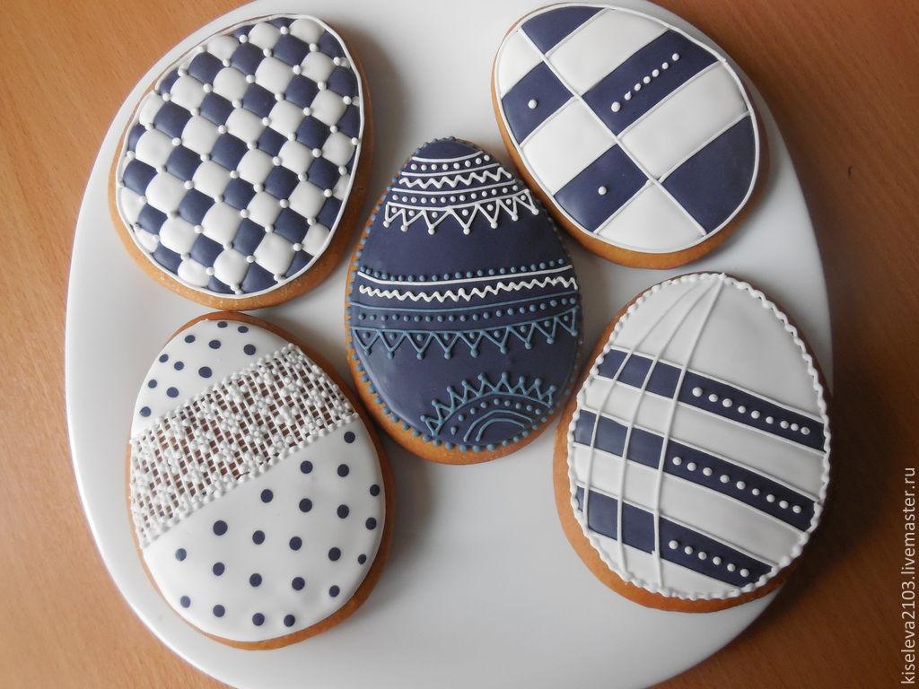 Gingerbread Easter-lovers of minimalism.Culinary hand-made souvenir.Master Kiseleva Natalia.Dubna.