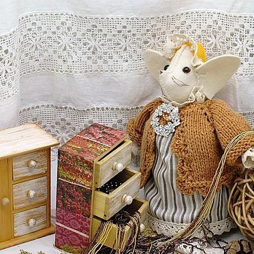 Куклы и игрушки ручной работы. Ярмарка Мастеров - ручная работа Кукольные домики: Мебель для кукол и зверюшек 2 комодика. Handmade.