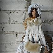 Куклы и игрушки ручной работы. Ярмарка Мастеров - ручная работа кукла тильда ручной работы ЗИМНЯЯ БАРЫШНЯ. Handmade.