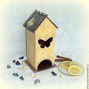"""Для дома и интерьера handmade. Livemaster - original item Чайный домик """"Солнечный"""". Handmade."""