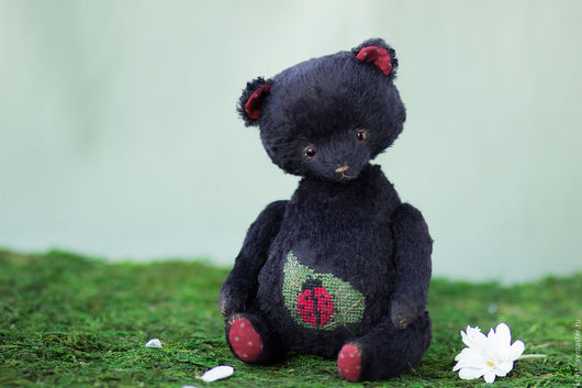 Мишки Тедди ручной работы. Ярмарка Мастеров - ручная работа. Купить Коровкин. Handmade. Черный, мишка, подарок, Вышивка крестом