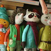 Куклы и игрушки ручной работы. Ярмарка Мастеров - ручная работа Набор гномов-животных. Мягкие игрушки. Handmade.