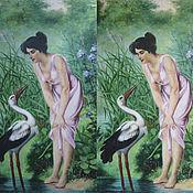 Картины и панно ручной работы. Ярмарка Мастеров - ручная работа Реставрация картин. Handmade.