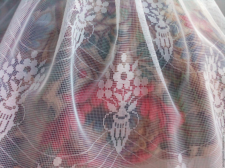 Тюлевые, винтажные отрезы ткани для творчества, Ткани, Пушкино,  Фото №1