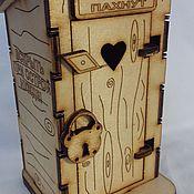 """Сувениры и подарки ручной работы. Ярмарка Мастеров - ручная работа Копилка """"Денежный туалет"""". Handmade."""