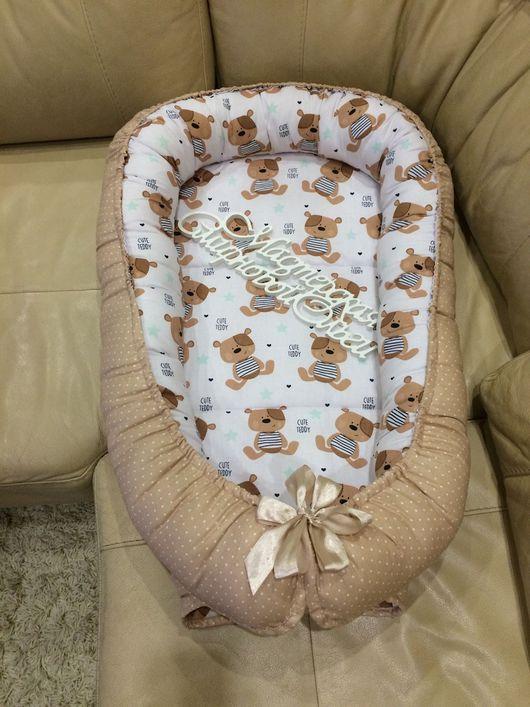 Детская ручной работы. Ярмарка Мастеров - ручная работа. Купить Кокон для новорожденных. Handmade. Кокон для новорожденного, конфетка