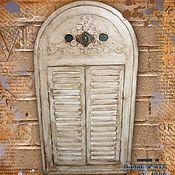 Для дома и интерьера ручной работы. Ярмарка Мастеров - ручная работа Зеркало-ставни из Венеции. Handmade.