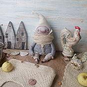 Куклы и игрушки ручной работы. Ярмарка Мастеров - ручная работа Большой гном, хранитель дома. Handmade.