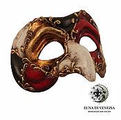 Одежда ручной работы. Ярмарка Мастеров - ручная работа Маска венецианская Пульчинелла Классико (костюмная). Handmade.