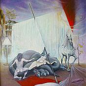 Картины и панно ручной работы. Ярмарка Мастеров - ручная работа Святой Георгий, побеждающий любовью. Handmade.