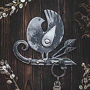 Для дома и интерьера handmade. Livemaster - original item Wrought iron hanger-housekeeper
