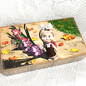 Канцелярские товары handmade. Livemaster - original item Pencil box 1 of November. Handmade.