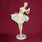 Винтаж handmade. Livemaster - original item BALLERINA WITH FLOWER. LSFI. A!!!. Handmade.