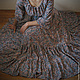 Платья ручной работы. Заказать Длинное платье Лазурь. Лиза (lisetti). Ярмарка Мастеров. Пейсли
