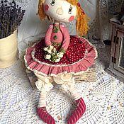 """Куклы и игрушки ручной работы. Ярмарка Мастеров - ручная работа """"Ягодка""""  интерьерная кукла. Handmade."""