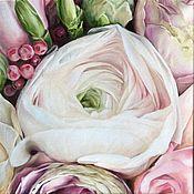 Картины и панно handmade. Livemaster - original item Oil painting Talent 30h30 cm. Handmade.
