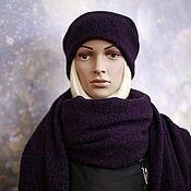 Аксессуары handmade. Livemaster - original item A scarf a stole made from 100% Merino Italy. Handmade.