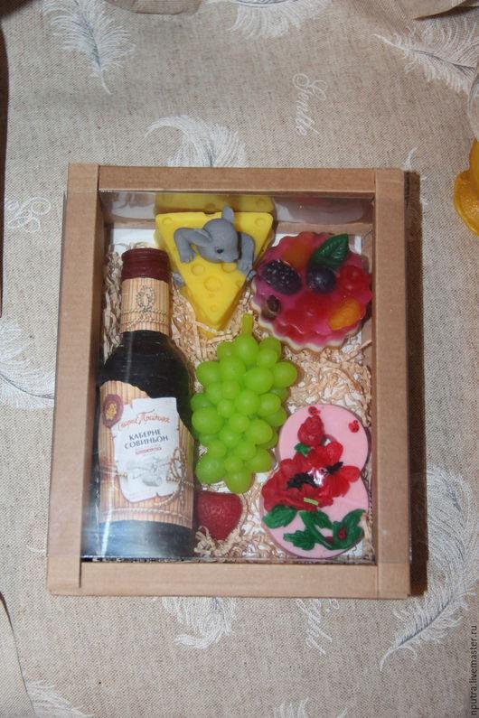 Персональные подарки ручной работы. Ярмарка Мастеров - ручная работа. Купить Винный набор. Handmade. Виноградная лоза, набор для творчества