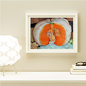 """Картины ручной работы. Ярмарка Мастеров - ручная работа Картина акварель """"Домик для мышки"""". Handmade."""