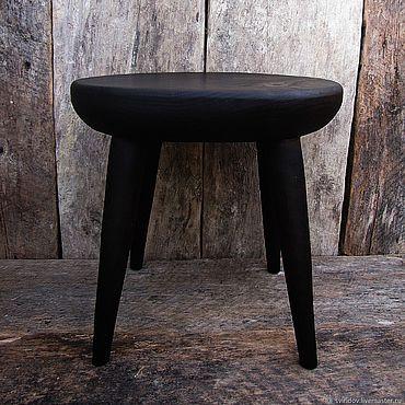 Мебель ручной работы. Ярмарка Мастеров - ручная работа Маленький детский стульчик из обожженной ольхи. Handmade.