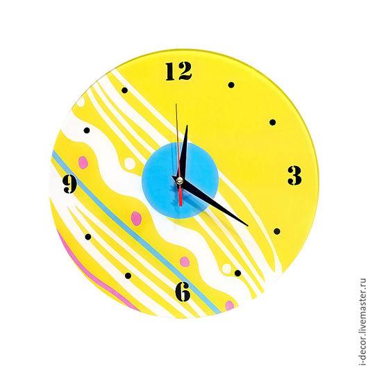 Часы настенные из коллекции Геометрия - подарок для дома. Allegro. Подарок в дом. Оригинальные часы. Подарок на новоселье. Подарок на свадьбу. Часы в подарок. Бесшумные часы.