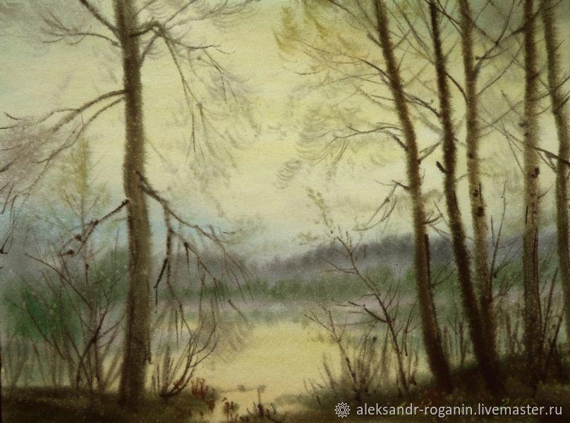 Картина: У реки, Картины, Пенза,  Фото №1