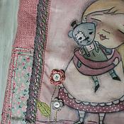 """Работы для детей, ручной работы. Ярмарка Мастеров - ручная работа Сумка """"Розовые мечты"""". Handmade."""
