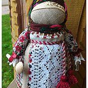 Куклы и игрушки ручной работы. Ярмарка Мастеров - ручная работа Народная кукла-оберег Домовушка. Handmade.