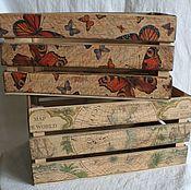 Для дома и интерьера ручной работы. Ярмарка Мастеров - ручная работа Ящики декоративные. Handmade.