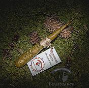 Сувениры и подарки handmade. Livemaster - original item Shamanic Candle beeswax with artysh, wormwood, thyme, salt. Handmade.