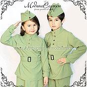 Работы для детей, handmade. Livemaster - original item Military uniform Art.125. Handmade.