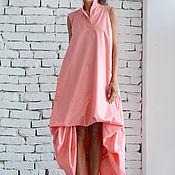 Одежда ручной работы. Ярмарка Мастеров - ручная работа ПЛАТЬЕ Maxi pink. Handmade.