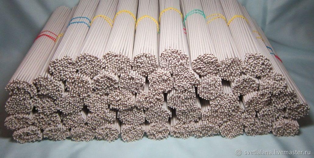 Other Handiwork handmade. Livemaster - handmade. Buy Rolls of paper (newspaper) for weaving or paper vine.White