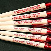 Ручки ручной работы. Ярмарка Мастеров - ручная работа Ручки: Авторучки с логотипом. Handmade.