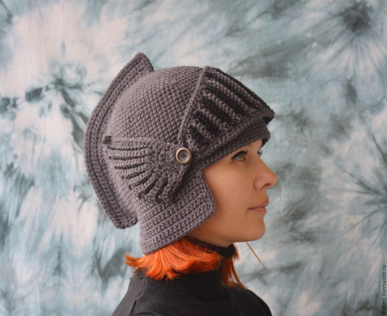 Вязание шлемов женских