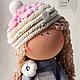 Коллекционные куклы ручной работы. Заказать Текстильная кукла Рита. Hauswerkstatt Tatjana Fetter. Ярмарка Мастеров. Кукла, текстильная кукла