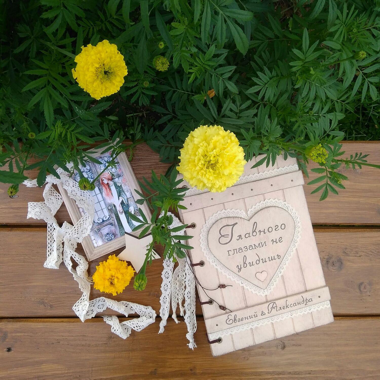 Свадебный деревянный фотоальбом, разные, Фотоальбомы, Вологда,  Фото №1