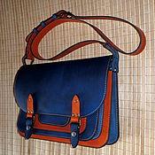 Сумки и аксессуары handmade. Livemaster - original item Blue and Red. Big Business.. Handmade.