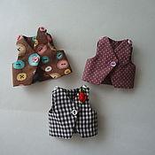 Куклы и игрушки ручной работы. Ярмарка Мастеров - ручная работа Жилеты. Handmade.